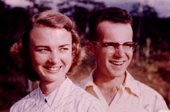 Peter Fleming cu sotia lui