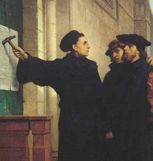 31 OCTOMBRIE 1517 - MARTIN LUTHER AFIŞEAZĂ PUBLIC LUCRAREA CELE 95 DE TEZE