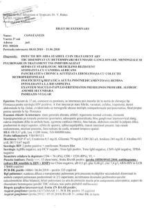 Bilet de externare Costica 11 iunie 2010 (I)