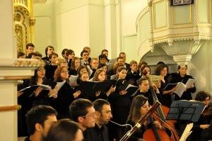 Cor evanghelic în Biserica Luterană (Oratoriul Mesia) 5 decembrie 2010