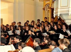 Corurile evanghelice reunite la Biserica Luterană 5 decembrie 2010 (Oratoriul Mesia)