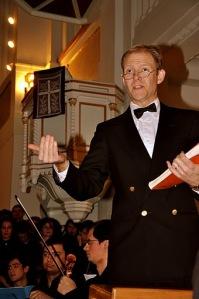 Kenneth Tucker dirijor si prezentator al Oratoriului Mesia