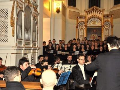 Oratoriul Mesia (Handel) sub conducerea dirijorului Emanuel Bălăceanu la Biserica Luterană (5 decembrie 2010)