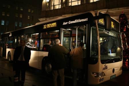 Autobuzele RATB vor circula si intre orele 23.00-5.00