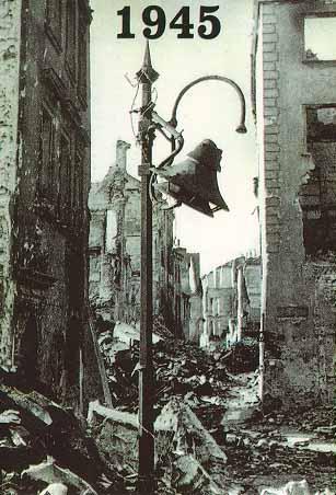 VARSOVIA DISTRUSA COMPLET IN 1945 LA TERMINAREA RAZBOIULUI