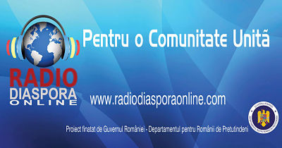ASCULTĂ RADIO DIASPORA ONLINE