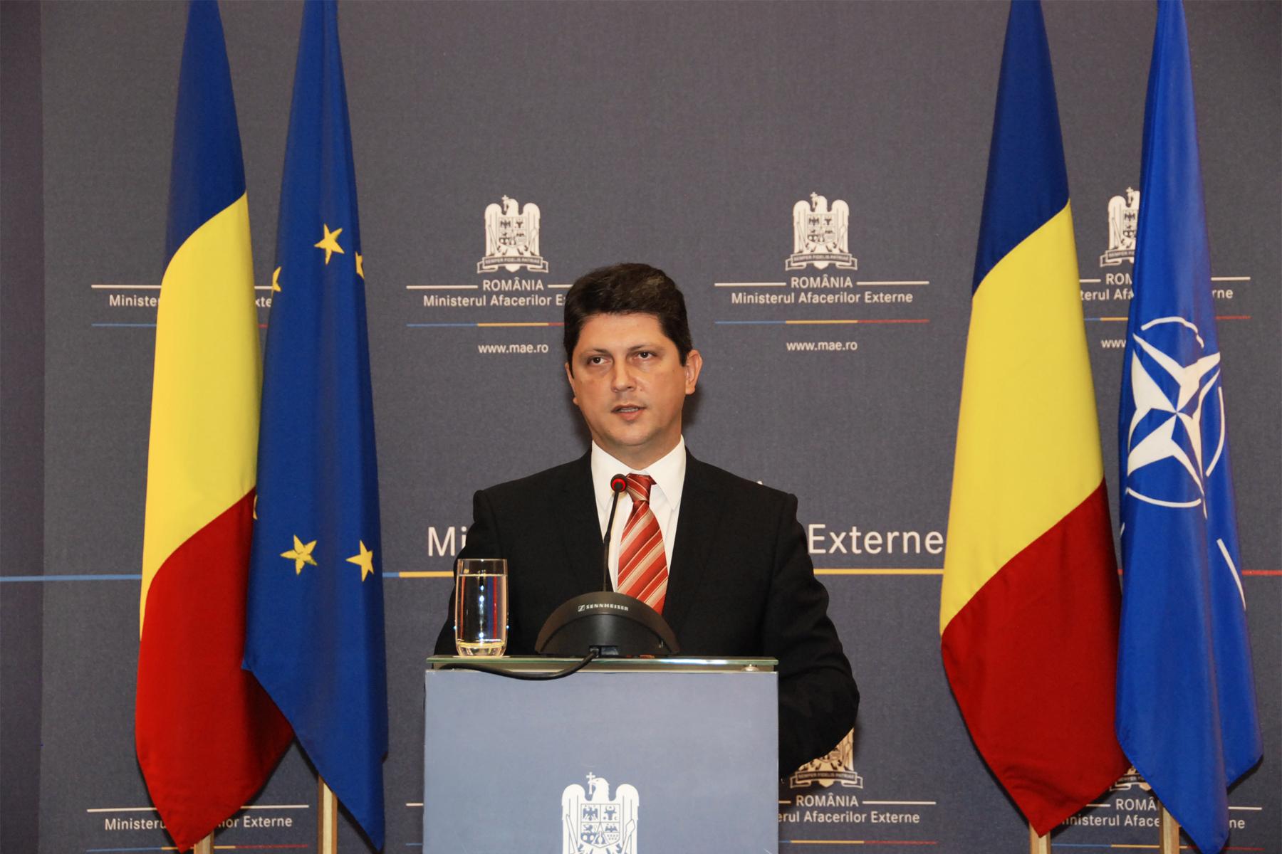Titus Corlatean - Ministrul Afacerilor Externe al Romaniei