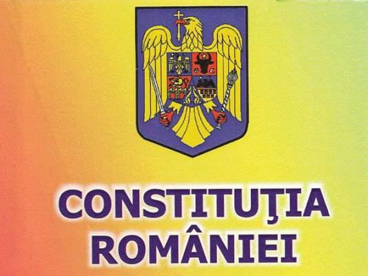 CONSTITUTIA ROMANIEI ESTE LEGEA FUNDAMENTALA CARE TREBUIE RESPECTATA DE NOI TOTI