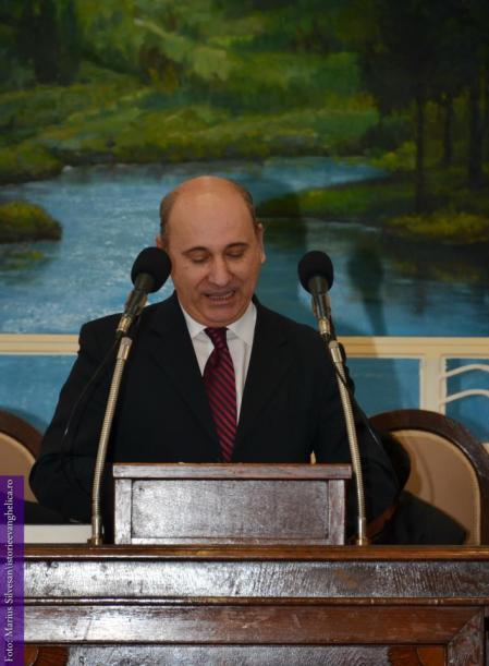 Virgil Achihai - Presedintele Uniunii Bisericilor Crestine dupa Evanghelie din Romania